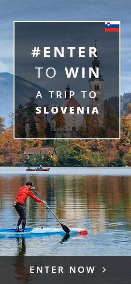 Enter to win a trip to Slovenia
